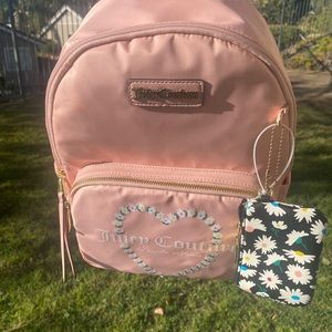 JUICY COTURE pink backpack , NWT